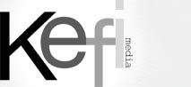 Kefi Media Logo & Link to Homepage